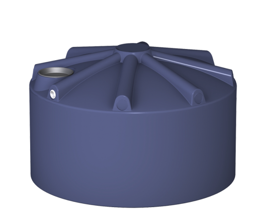 10000 litre squat round water tank
