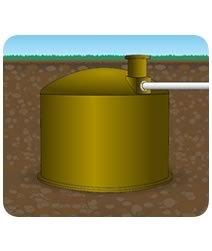 3000 Litre Underground Water Tank