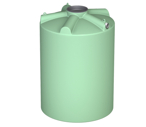 3000 litre round water tank