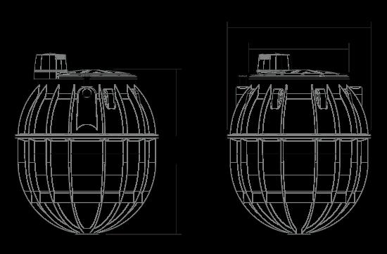 6000 litre septic tank dimensions