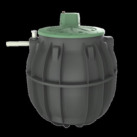 6000 litre septic tank