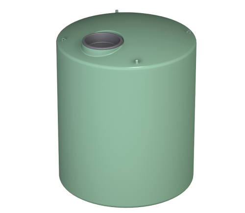 1000 litre round tank