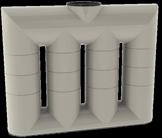 1050 litre superslim water tank