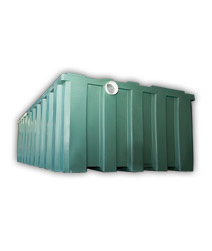 rosemark water tanks 1800 litre rectangle water tanks
