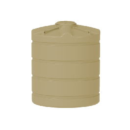 2000 litre squat round water tank Adelaide
