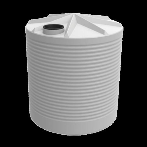 5000 litre corrigate round tank