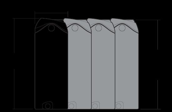 550 litre camel module dimensions