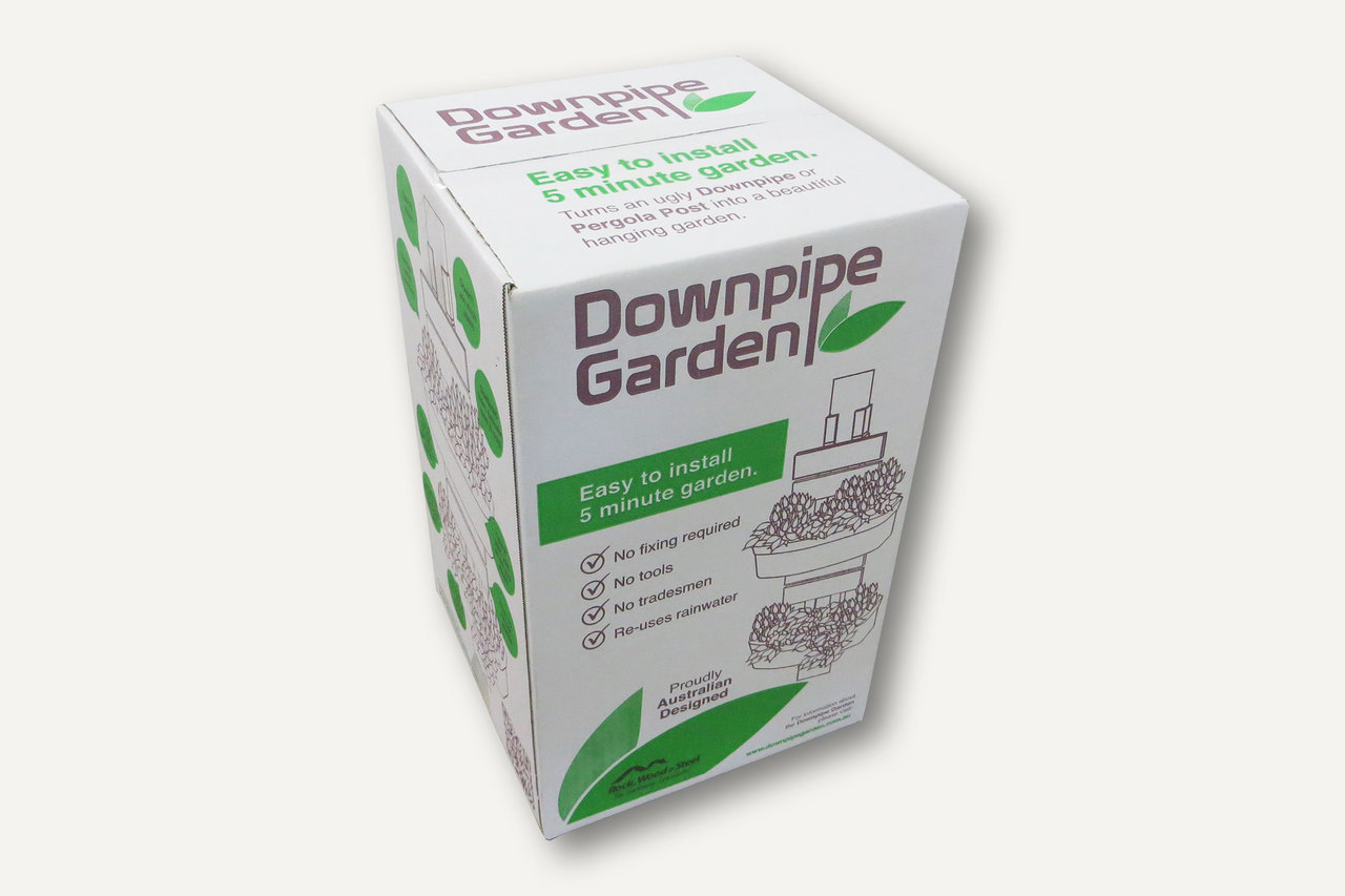 downpipe garden box