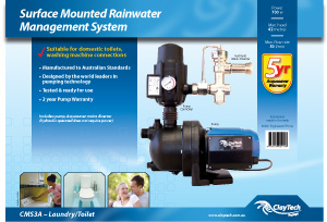 CMS3A Pump and Rainswitch