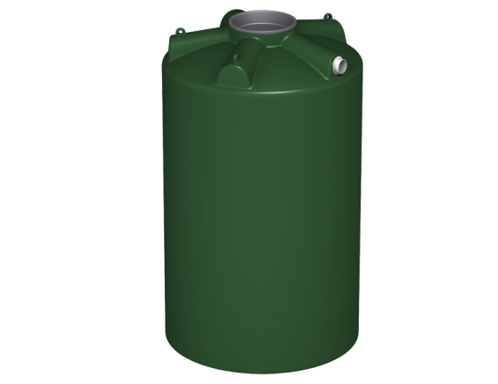 2000 litre round water tank