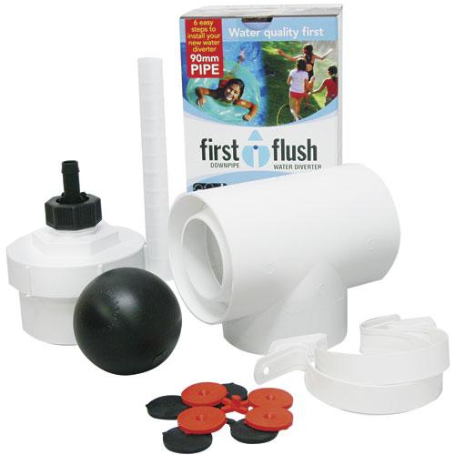 first flush downpipe converter